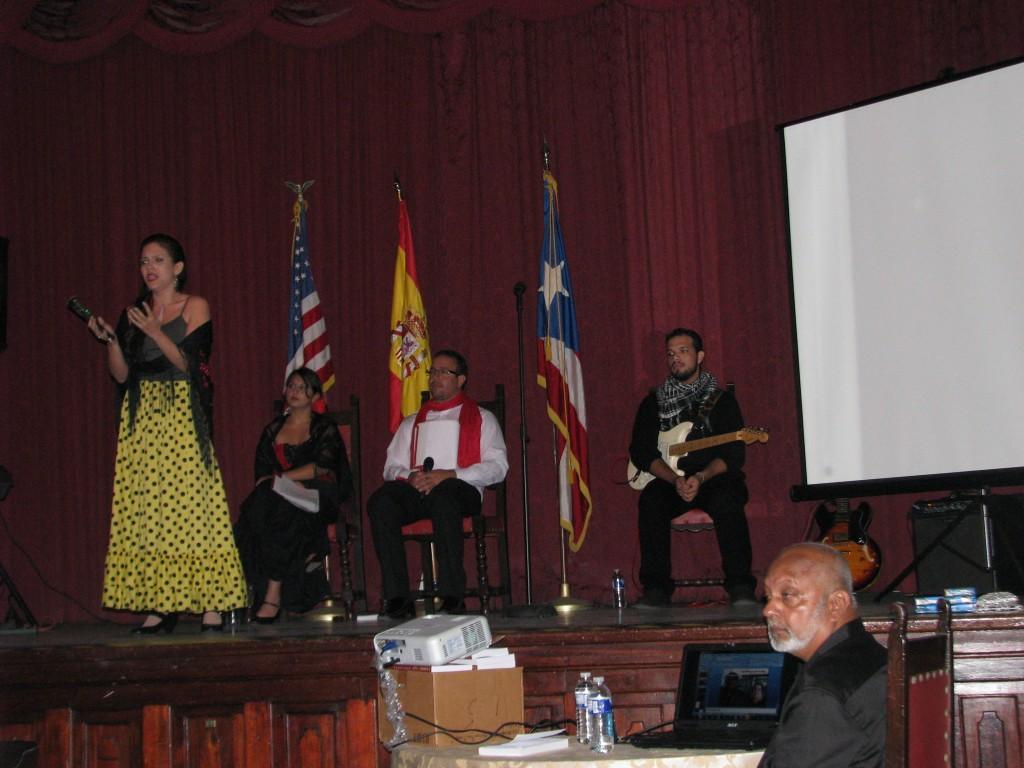 """Monica Placido (soprano) sings """"De Espana Vengo."""""""