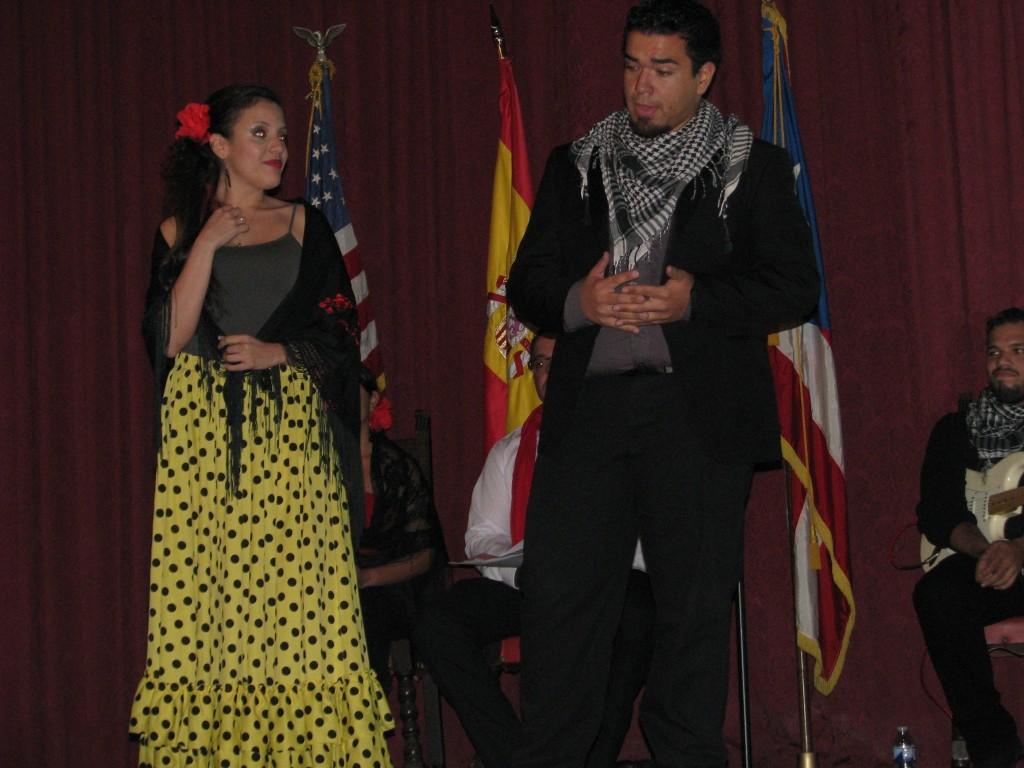 "Monica Placido (soprano) and Jean Carlos Martinez (tenor) sing a love duet, ""Torero Quiero Ser."""
