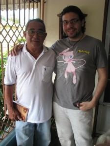 Randy and his grandpa, Moncho